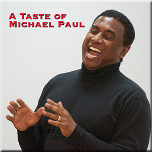 A Taste of Michael Paul CD